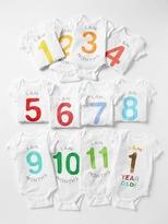 Gap Calendar bodysuit (12-pack)