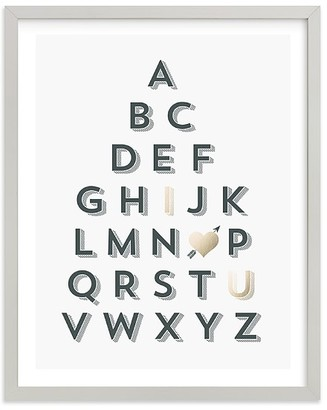 Pottery Barn Kids ABC Love Wall Art by Minted