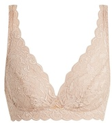 Hanro Moments soft-cup floral-lace bra
