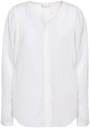 Joie Rashelda Striped Gauze Shirt