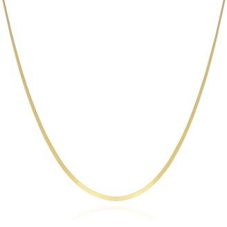 Coco Mango Jewellery Kendra 18K Gold Snake Chain Choker Necklace