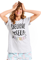 Peter Alexander peteralexander I Believe In Unicorns Tee