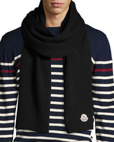 Moncler Men's Virgin Wool Scarf