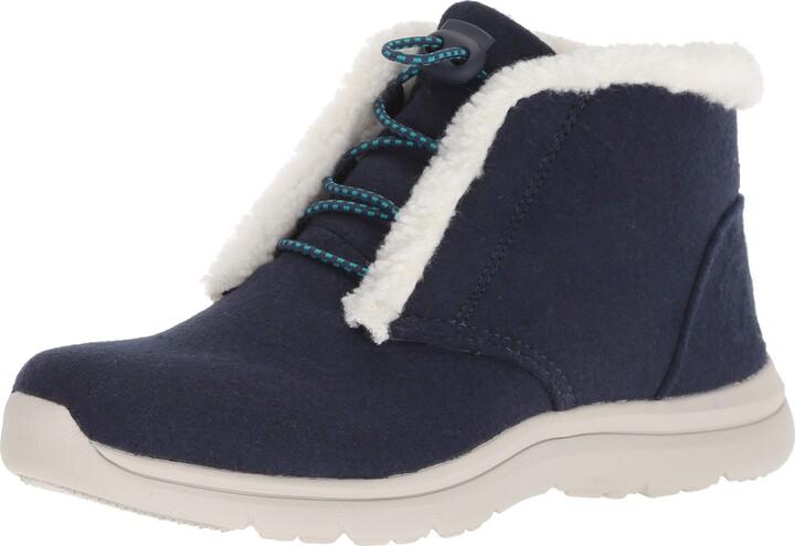 Ryka Women's Everest Ankle Boot Medium Blue 9.5 M US