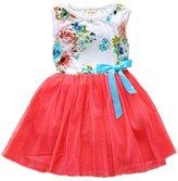 Zhuannian Baby Girls Flower Sleeveless Dresses (6-9months, )