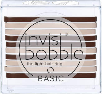 Invisibobble invisibobble Basic The Light Hair Ring - Mocca and Cream (10 Pack)