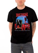 Rush T Shirt Mens Moving Pictures Tour 81 X Men Quicksilver new Official