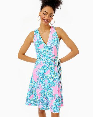 Lilly Pulitzer Misha Sleeveless Wrap Dress
