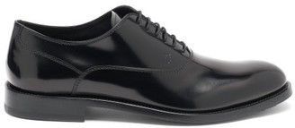 Tod's Janeiro Leather Oxford Shoes - Black