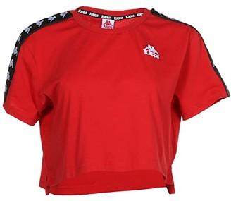 Kappa Banda Apua (Red/Black) Women's Clothing