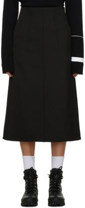 MONCLER GENIUS 2 Moncler 1952 Black Gonna Skirt