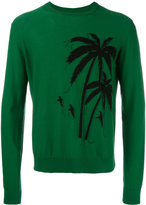 No.21 palm tree jumper - men - Cotton - L