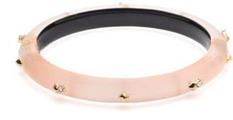 Alexis Bittar Studded Hinge Bracelet, Light Pink
