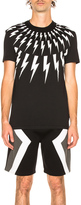 Neil Barrett Fair Isle Thunderbolt Tee