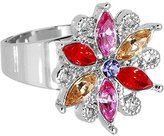 Body Candy Fanciful Flower Adjustable Ring