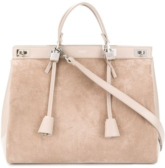 Giambattista Valli Top-Handle Leather Tote Bag
