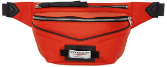 Givenchy Red Downtown Bum Bag