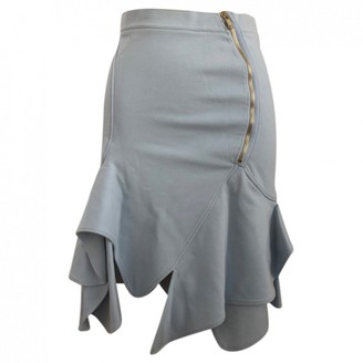 Givenchy Blue Cotton - elasthane Skirt for Women
