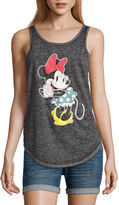 Freeze Minnie Mouse Tank Top-Juniors
