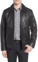 Andrew Marc Men's Herrod Perforated Leather Jacket