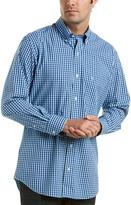 Tailorbyrd Richard Stretch Trim Fit Woven Shirt