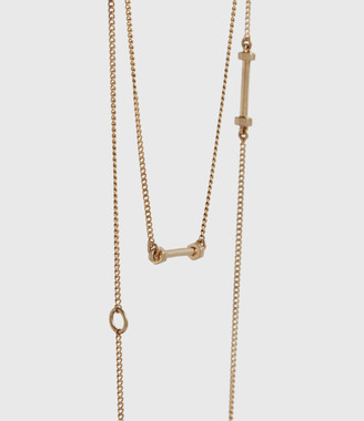 AllSaints Annika Gold-Tone Necklace