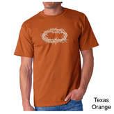 LOS ANGELES POP ART Los Angeles Pop Art Crown of Thorns Short Sleeve Word Art T-Shirt