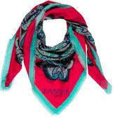 Lanvin Multicolor Paisley Scarf