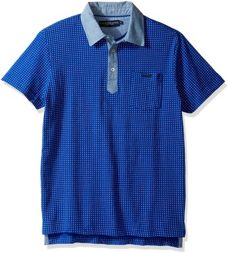U.S. Polo Assn. Men's Color Blocked Short Sleeve Classic Fit Polo Shirt