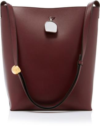 Jil Sander Constantin Leather Shoulder Bag