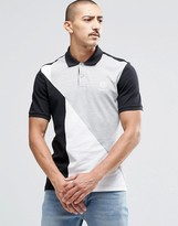Reebok Retro Pique Polo Shirt In Gray AY1215