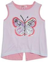Design History Girls' Butterfly Tank - Little Kid
