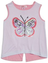 Design History Girls' Butterfly Tank - Sizes 2-6X