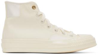 Converse Off-White Clean N Preme Chuck 70 High Sneakers