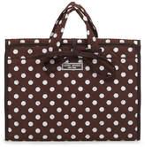 Henri Bendel Quilted Folding Cosmetic Bag
