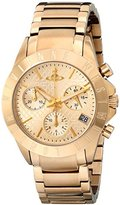 Vivienne Westwood Women's VV099GD Westminster Analog Display Swiss Quartz Gold Watch