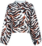 Balenciaga tiger printed top