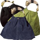 Suede Evita Hobo Bag by Vivre