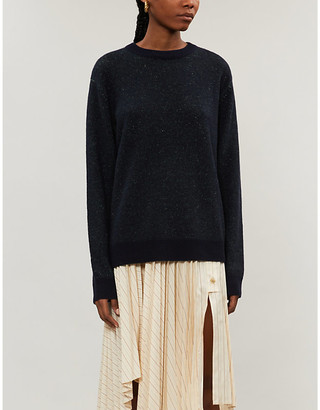 Acne Studios Marled knitted jumper