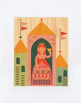 Petit Collage Small Unframed Print on Wood - Princess