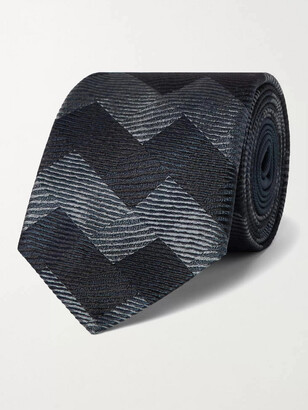 Missoni 7cm Silk-Jacquard Tie