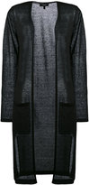 Theory Tornia duster coat - women - Linen/Flax/Polyamide - XS