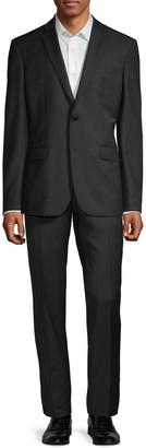 Versace Modern-Fit 2-Piece Tonal Pinstripe Wool Suit