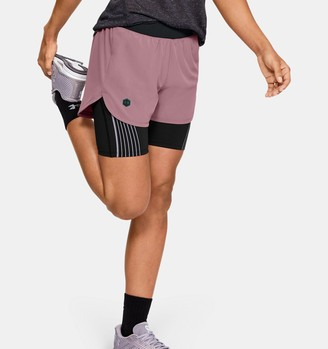 Under Armour Women's UA RUSH Run 2-in-1 Shorts