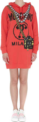 Moschino Pixel Capsule Short Hooded Dress