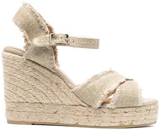 Castaner Bromelia wedged sandals