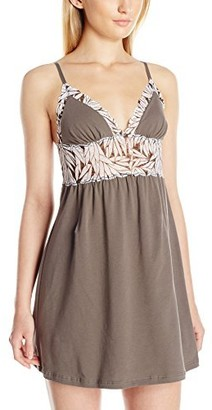 Cosabella Women's Sweet Treat Babydoll Cheetah