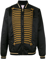 Palm Angels embroidered bomber jacket - men - Polyamide/Viscose/Polyester/Metallic Fibre - 46