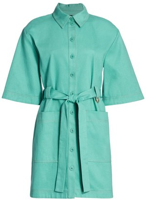 Stine Goya Carli Utility Shirt Dress