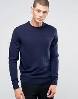 Fred Perry Jumpers With Crew Neck In Dark Carbon